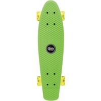 Skateboard Osprey/Xootz LED groen 56 cm/ABEC5