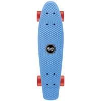 Skateboard Osprey/Xootz single blauw 56 cm/ABEC5