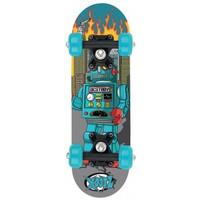 Skateboard Osprey/Xootz mini blauw 43 cm/608z