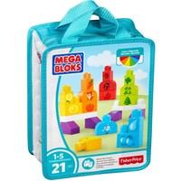 Mega Bloks Build n Learn Bag - Learn my colours MEGA