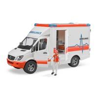 MB Sprinter ambulance met chauffeur Bruder