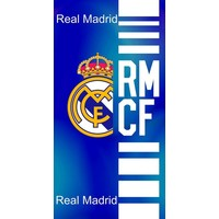Badlaken real madrid blauw RMCF 75x150 cm