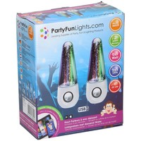 Speaker Water Dancing Party FunLights wit 2x 3W