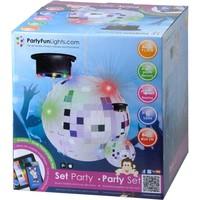 Spiegelbol Party FunLights 20 cm