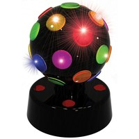 Discolamp LED Party FunLights zwart 10 cm
