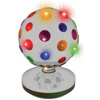 Discolamp LED Party FunLights zilver 20 cm