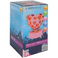 Disco Lamp Hart Party FunLights 20 cm
