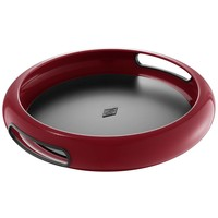 Wesco Spacy Tray Dienblad Rond Robijn Rood