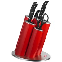 Wesco Asia Knife Messenblok incl. messen Rood