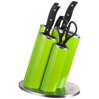 Wesco Asia Knife Messenblok incl. messen Lime Groen