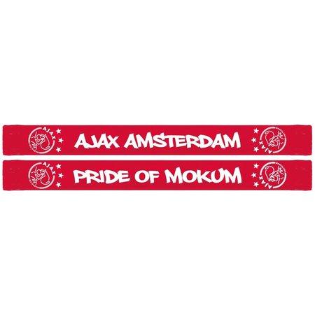 AJAX Amsterdam Sjaal ajax rood Amsterdam pride of Mokum