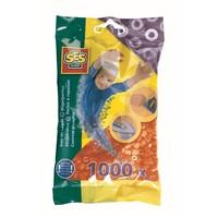 Strijkkralen SES 1000 stuks oranje
