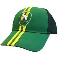 Cap ado senior groen/geel streep