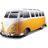 Auto RC Auldey 110 Volkswagen Bus T1 oranje/wit