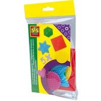 Strijkkralen bordjes SES 5-pack vormen