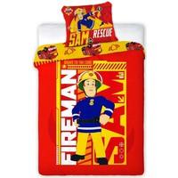 Dekbedovertrek Brandweerman Sam 140x200/70x90 cm