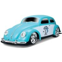 Auto RC Auldey 110 Volkswagen Kever blauw/wit
