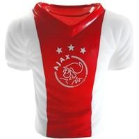 Spaarpot ajax rood/wit shirt