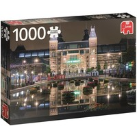 Puzzel Rijksmuseum bij nacht 1000 stukjes