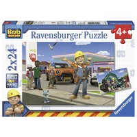 Puzzel Bob de Bouwer 2x24 stukjes