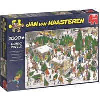 Puzzel Jan van Haasteren Kerstbomen 2000 stukjes