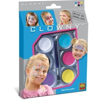 Aquaschmink SES meiden 6 kleuren