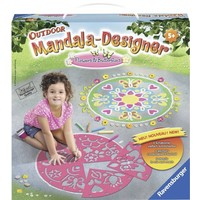 Outdoor Mandala Designer: Flowers & Butterflies