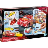 Creativity Set Cars 3 ToTum 3 in 1