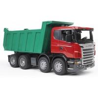 Scania R met kiepbak Bruder