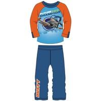 Pyjama Planes blauw/oranje