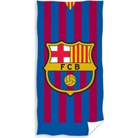 Badlaken barcelona FCB stripes 70x140 cm