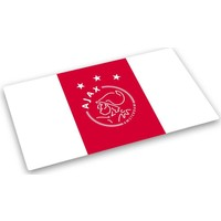 Placemat ajax wit/rood/wit logo