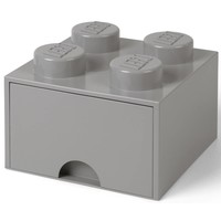 Opberglade LEGO DESIGN brick 4 grijs STONE