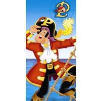 Badlaken Piet Piraat 75x110 cm