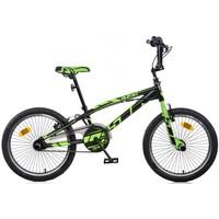 Fiets Dino Bikes Aurelia Freestyle black-green 20 inch