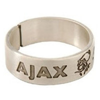 Ring ajax zilver band
