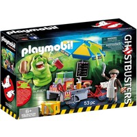 Slimer en hotdogkraam Ghostbusters Playmobil