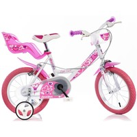 Kinderfiets Dino Bikes Little Heart 16 inch