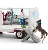 Schleich Mobiele dierenarts met Hannover veulen Schleich