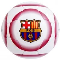 Bal barcelona leer groot wit crest