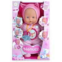 Pop Nenuco soft met 5 functies roze 30 cm