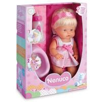 Pop Nenuco met flesje en potje roze 30 cm