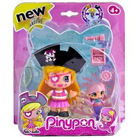 Speelfiguur Pinypon: piraat met zeemeermin