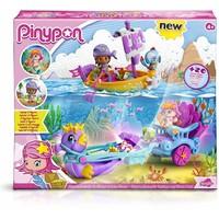 Speelset Pinypon fantasie schip en koets