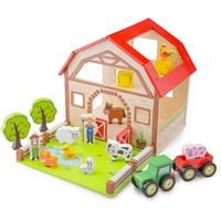 Boerderij hout New Classic Toys 26x20x26 cm