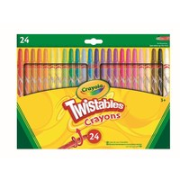 Draaiwaskrijt Crayola 24 stuks