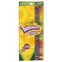 Draaikleurpotloden Crayola 40 stuks