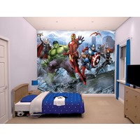 Avengers Stickerbehang Mural Walltastic 245x305 cm