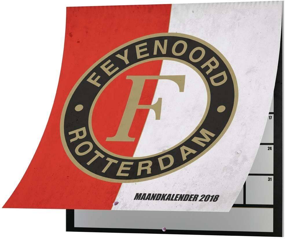 Feyenoord Rotterdam - Kalender feyenoord 2018 30x30 cm