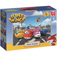 Puzzel Super Wings vloer: 15 stukjes